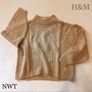 NWT $50 H&M oversized Wool Sweater